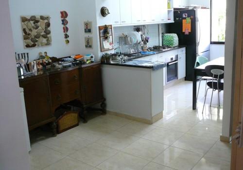 המטבח ופינת האוכל